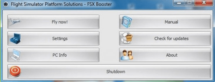 FSX Booster 4 6 Download (Free) - FSX Booster exe