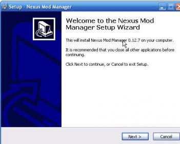nexus mod manager windows 10