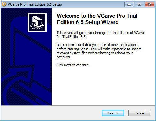 VCarve Pro  Get the software safe and easy