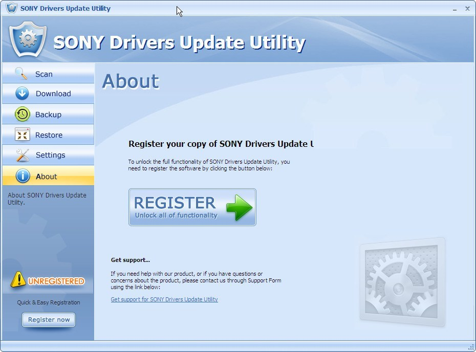 SONY Drivers Update Utility  Get the software safe and easy