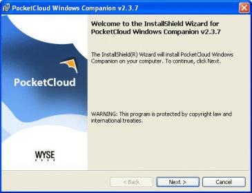 pocketcloud windows