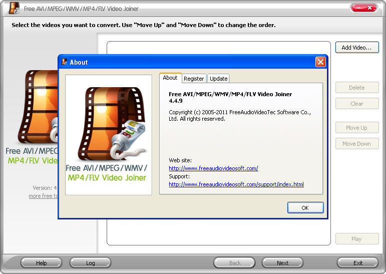descargar free avi mpeg wmv mp4 flv video joiner