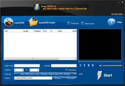 free dvd to avi mp4 wmv mpeg 3gp flv converter