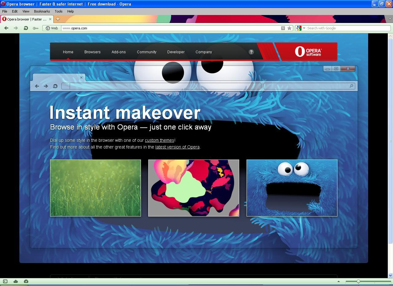 Opera Download Page