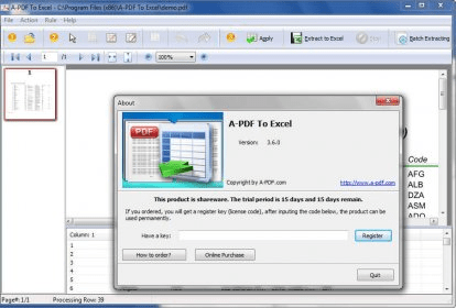 pdf to excel batch converter
