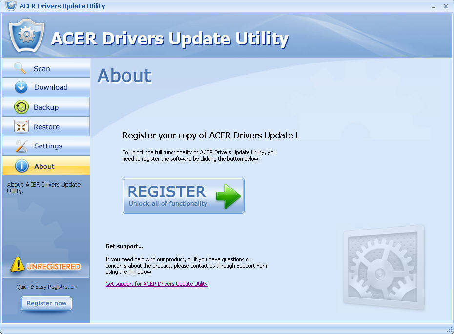 Acer Drivers Update Utility For Windows 7  Get the software safe and easy