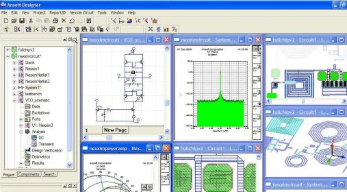 Ansoft Designer Download - Integrated schematic and design