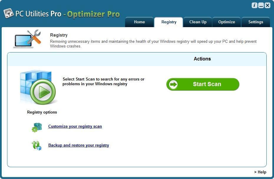 Registry Window