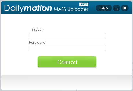 Dailymotion Mass Uploader Download - A program allowing you