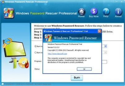 Windows password rescuer full version | DaosSoft Windows