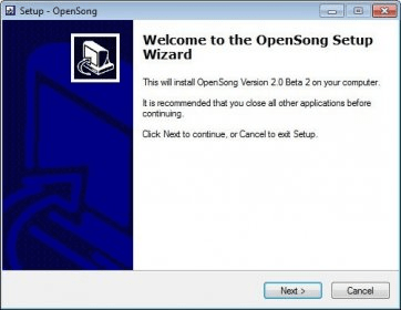OpenSong 2 0 Download (Free) - OpenSong exe