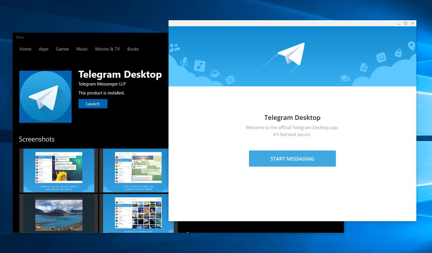 Telegram Desktop Download - Communicate through video, voice and