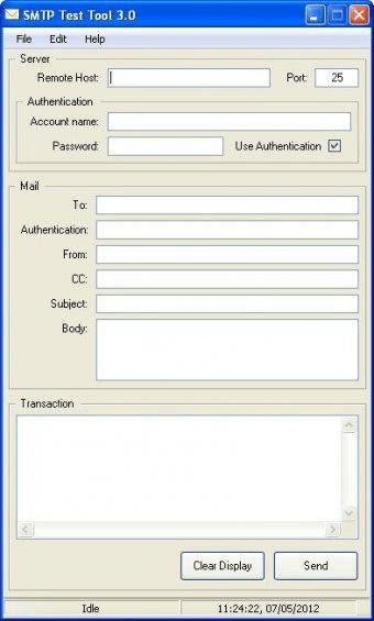 SMTP Test Tool 3 0 Download (Free) - SMTP Test Tool exe