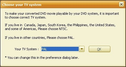 TV System Selection
