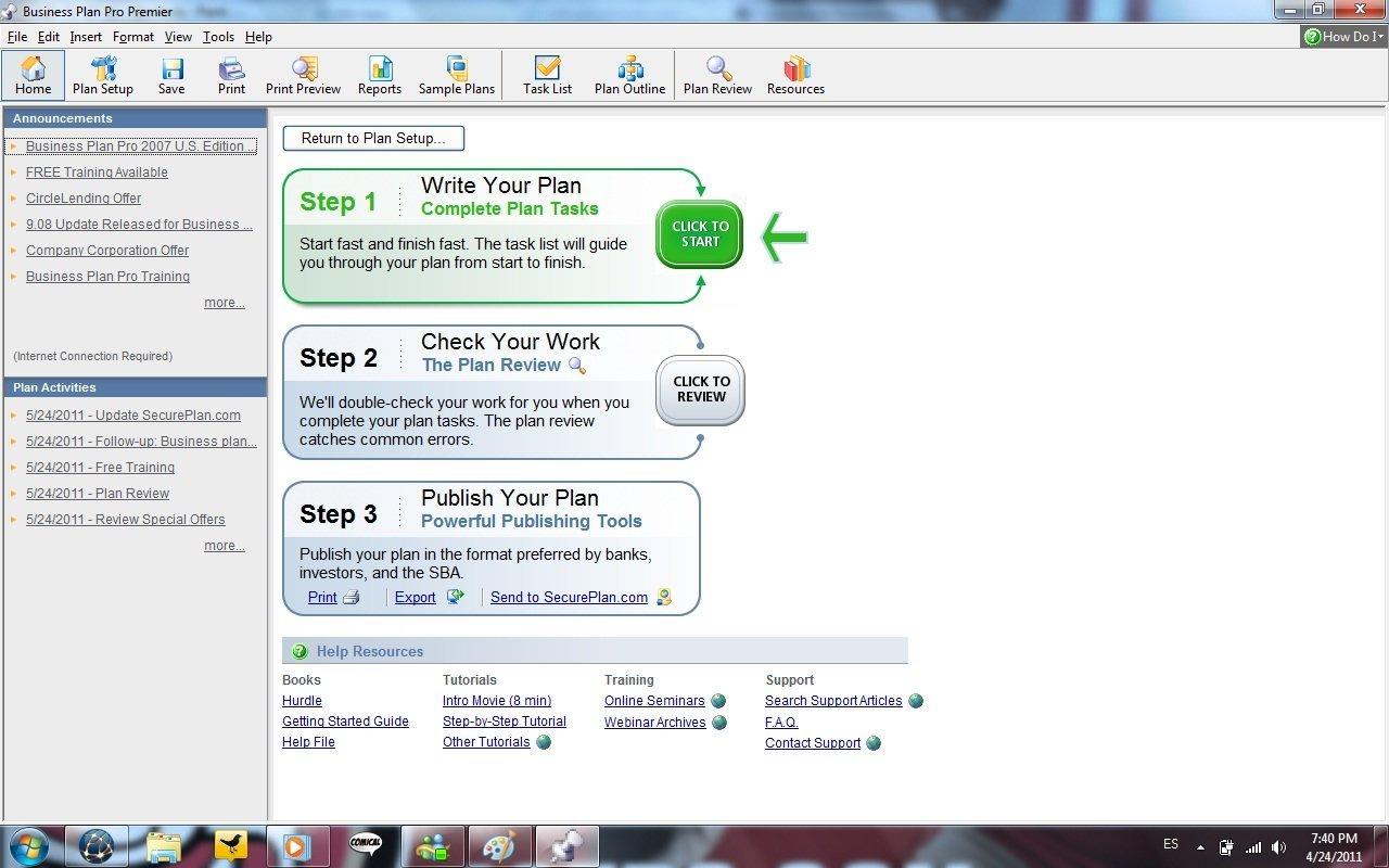 business plan pro 2007 uk download