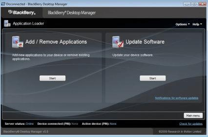 blackberry desktop manager 6.1 download for mac