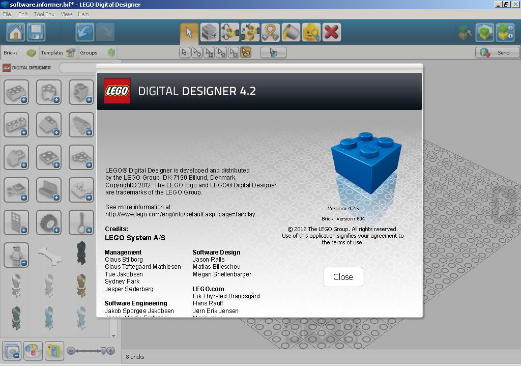LEGO 4.2.5 TÉLÉCHARGER DIGITAL DESIGNER