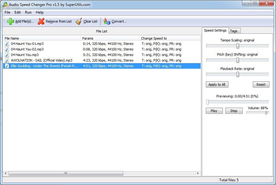 Audio Speed Changer Pro  Get the software safe and easy