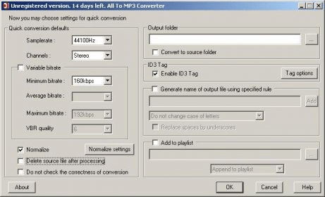 All To MP3 Converter 2 1 Download (Free trial) - MP3Converter exe