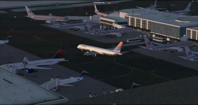 KLAX - LA Intl Airport Photoreal FSX Download - This Photo