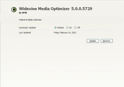 Widevine Media Optimizer File Extensions