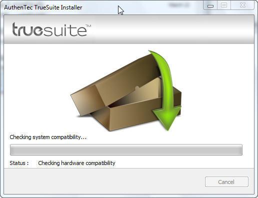 AuthenTec TrueSuite Download - TrueSuite is a secure, user