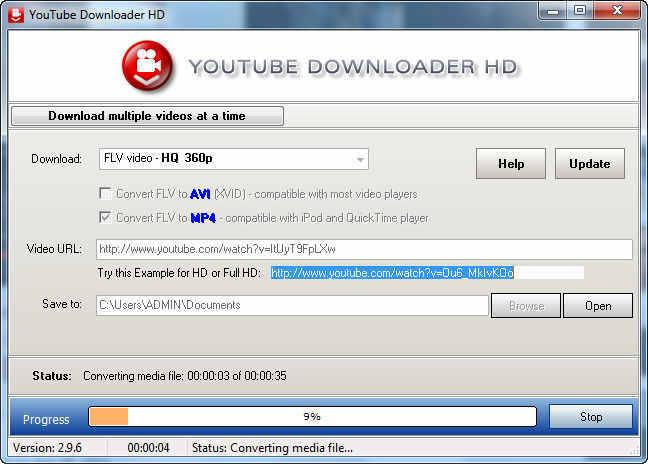 HD TÉLÉCHARGER GRATUIT DOWNLOADER YOUTUBE 2.9.9.13