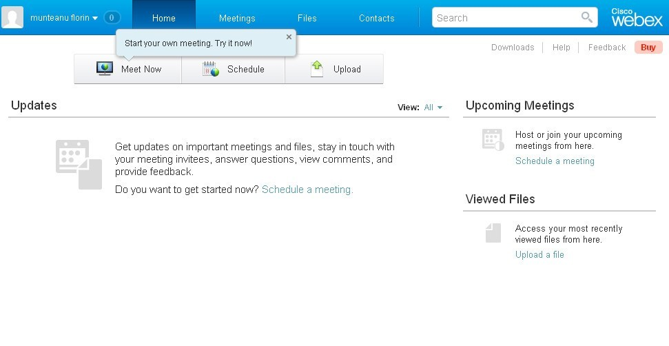 Cisco WebEx Meetings  Get the software safe and easy