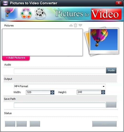 Pictures to Video Converter