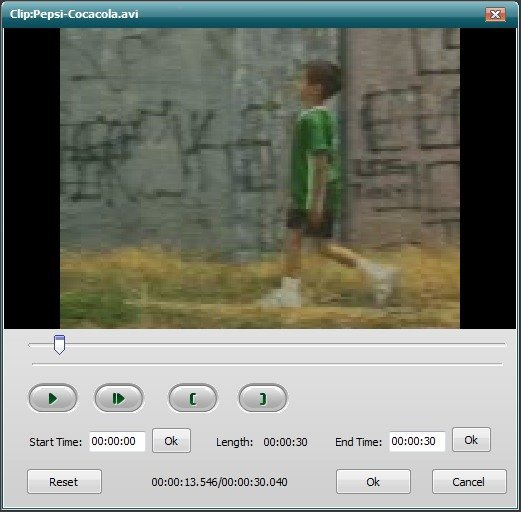 Video Clipping Window