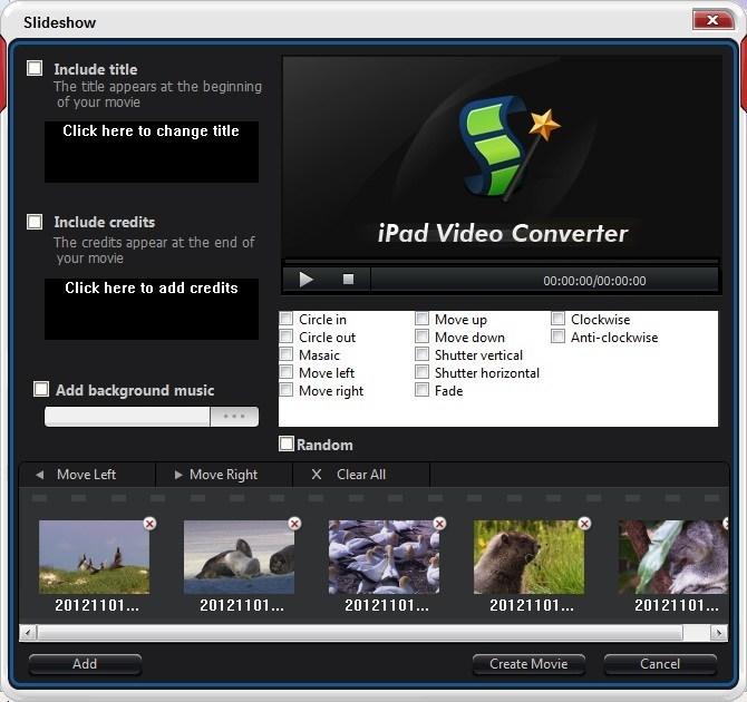 Slideshow Dialog