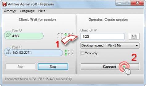 ammyy admin 3.1 setup