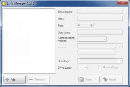 win-sshfs 0 0 Download (Free)