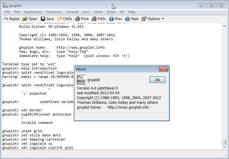 GNUPLOT 4 6 Download (Free) - gnuplot 4 7 exe