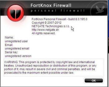 fortknox personal firewall gratuit 2012