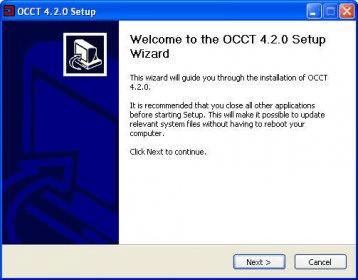 OCCT 4 1 Download (Free) - OCCT exe
