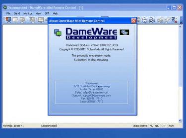dameware mini remote control server download