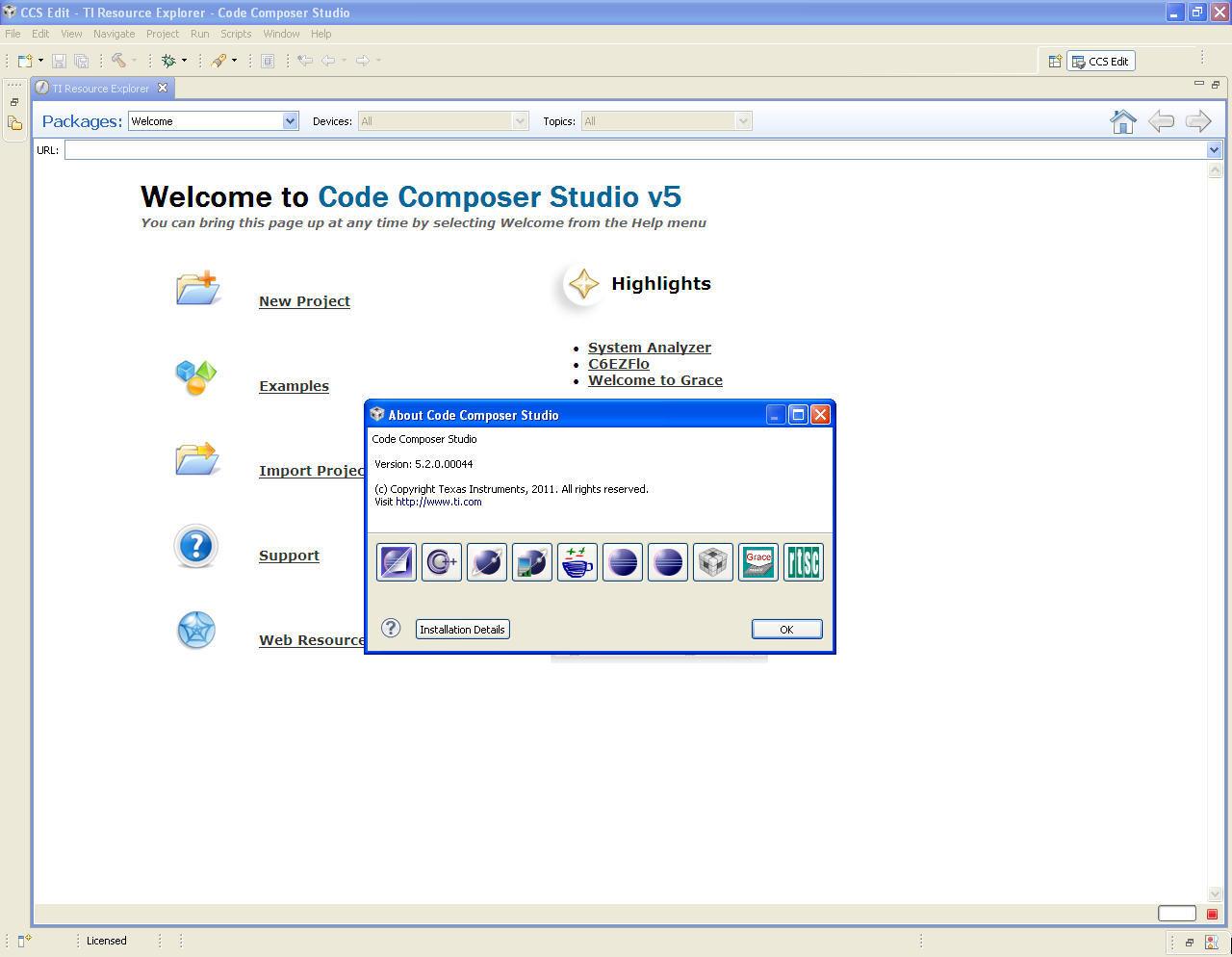 Code Composer Studio 5 5 Download (Free) - ccstudio exe