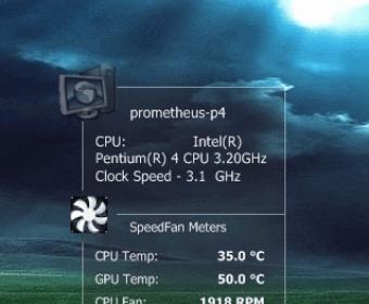 SpeedFan Download - SpeedFan monitors voltages, fan speeds