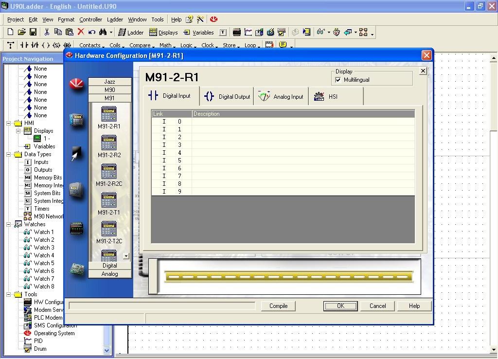 Unitronics U90 Ladder 6 6 Download (Free) - U90Ladder exe