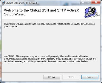 Chilkat SSH and SFTP ActiveX Download Free Version