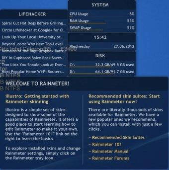 Rainmeter 2 3 Download (Free) - Rainmeter exe