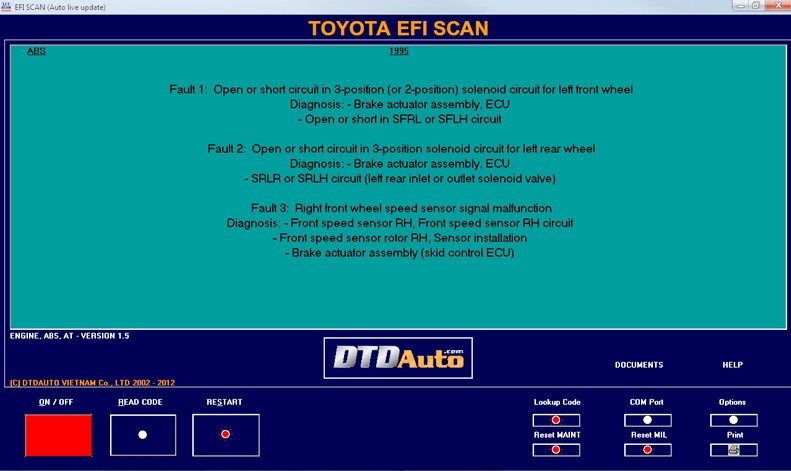 EFI SCAN  Get the software safe and easy
