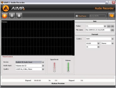 free download aimp2 recorder
