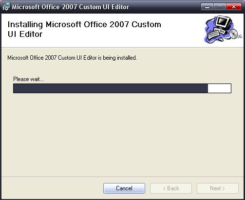 Microsoft Office 2007 Custom UI Editor Download - The new
