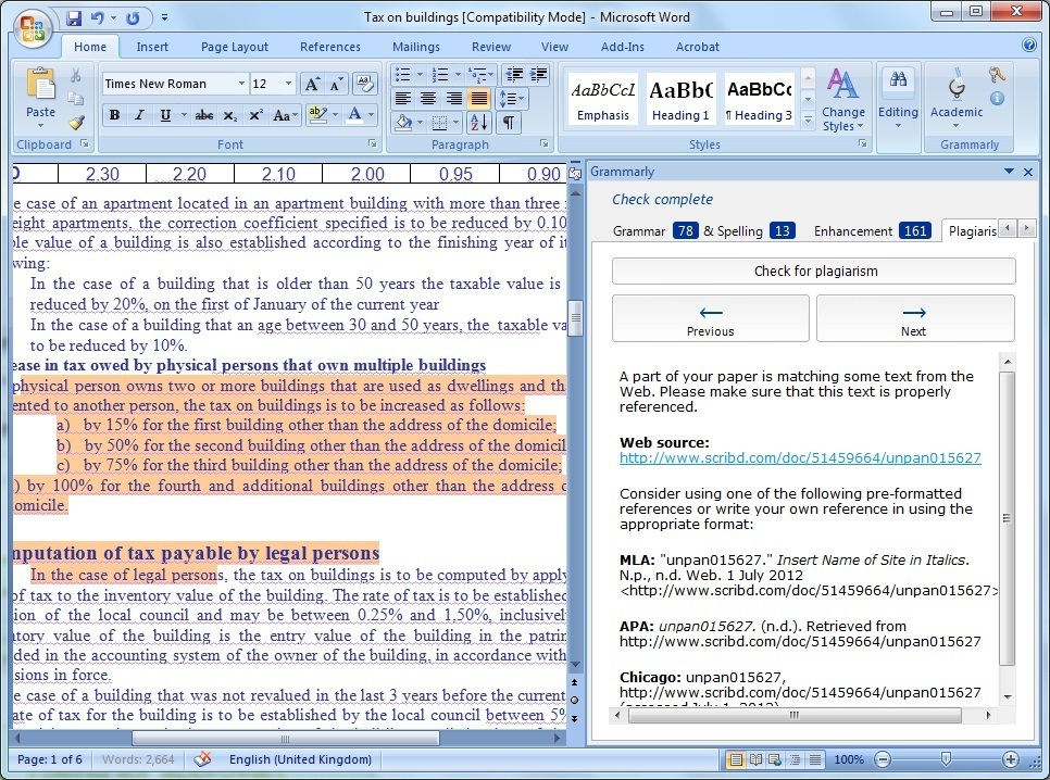 Install grammarly for microsoft office