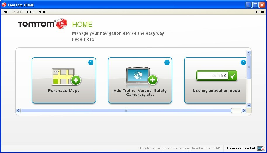 TomTom HOME 2 7 Download - TomTomHOME exe