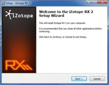 iZotope RX 2 1 Download (Free trial) - iZotope RX 2 exe