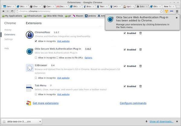 Okta Secure Web Authentication Plugin Download - It is a