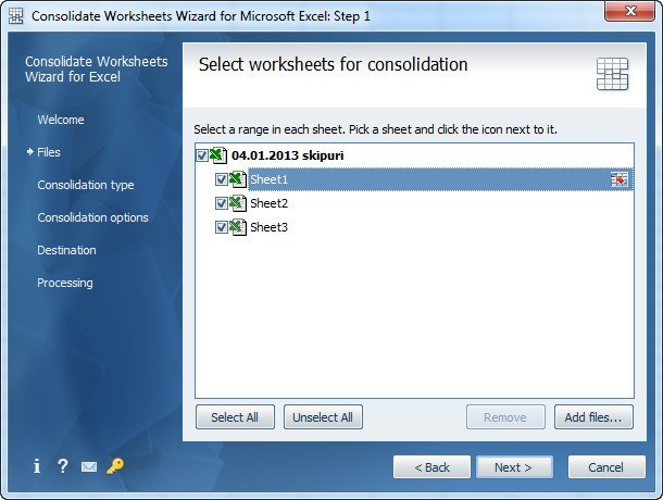 AbleBits Consolidate Worksheets Wizard Download - A program ...